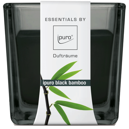 ipuro Duftkerze Essentials Black Bamboo