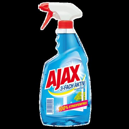 Ajax Glasreiniger 3-fach aktiv