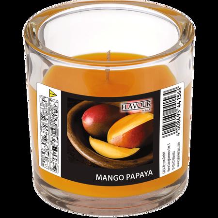 Gala Duftkerze Glas Mango Papaya
