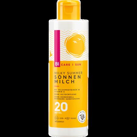 BI CARE SUN  Milky Summer Sonnenmilch LSF 20