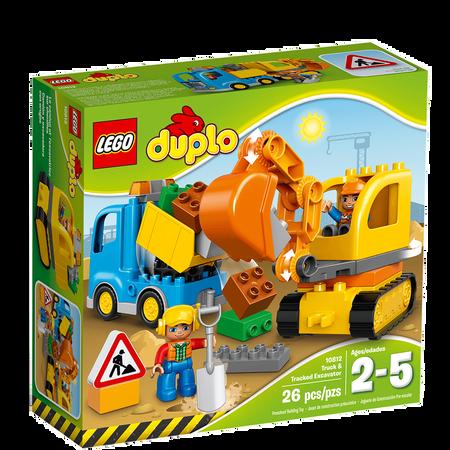 LEGO Duplo 10812 Bagger & Lastwagen