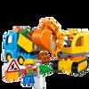 Bild: LEGO Duplo 10812 Bagger & Lastwagen
