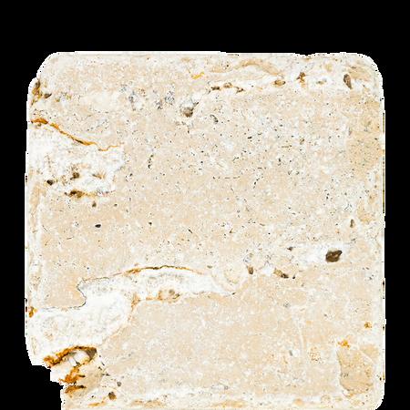 puremetics Natur-Seifenstein aus Travertin