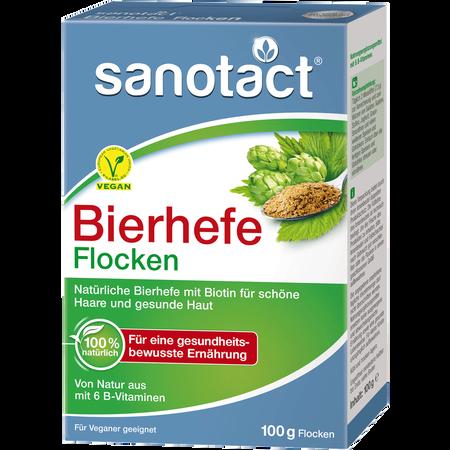 sanotact Bierhefe Flocken