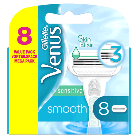 Gillette Venus Skin Elixir sensitive smooth Klingen Vorteilspack
