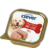 Bild: clever Saftiges Paté mit Rind + Leber Hundefutter