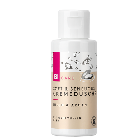 BI CARE Soft & Sensuous Cremedusche Milch & Argan Mini
