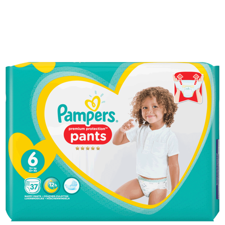 Pampers Premium Protection Pants Gr. 6 (15+ kg) Jumbo Pack