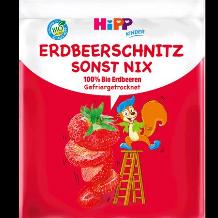 HiPP Erdbeerschnitz sonst nix