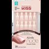 Bild: KISS Salon Acrylic Nude Nails - Breathtaking