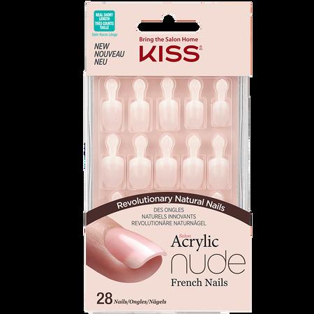 KISS Salon Acrylic Nude Nails - Breathtaking