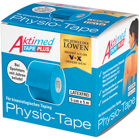 Aktimed Tape Plus Physio-Tape blau