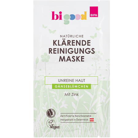 bi good Klärende Reinigungsmaske Gänseblümchen