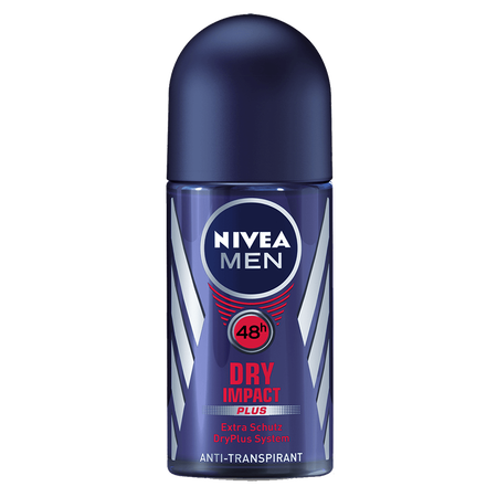 NIVEA MEN Dry Impact plus Deo Roll-on
