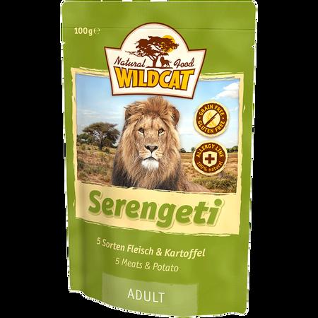 Wildcat Serengeti Adult 5 Sorten Fleisch/Kartoffel