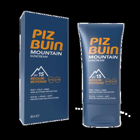 PIZ BUIN Mountain Sun Cream LSF 15