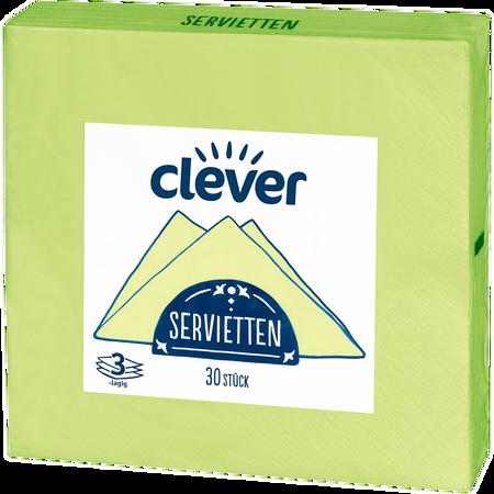 clever Servietten Fresh Green