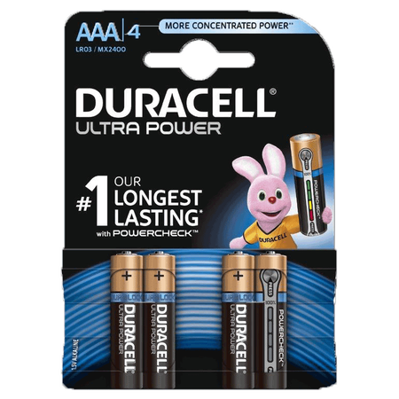 DURACELL Ultra Power Alkaline AAA Batterien