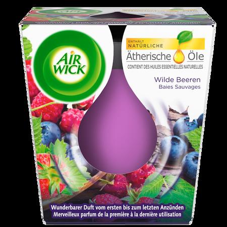 AIRWICK Wohlfühl-Duftkerze Wilde Beeren
