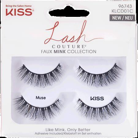 KISS Lash Couture Faux Mink Collection KLCD01C