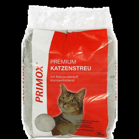 Primox Premium Katzenstreu mit Babypuderduft