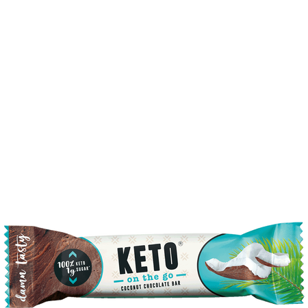 KETO on the go Coconut Chocolate Bar