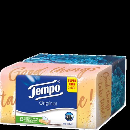 Tempo Taschentücher Duo Box