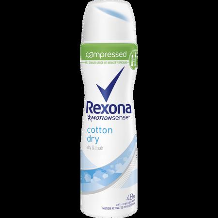 Rexona Motionsense compressed Deospray Cotton Dry