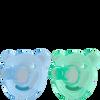 Bild: PHILIPS AVENT Schnuller Soothie, 3 Monate+, blau/grün