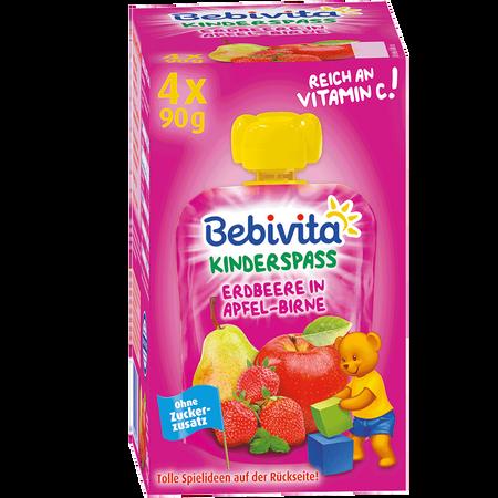 Bebivita Kinder Spaß Erdbeere in Apfel-Birne