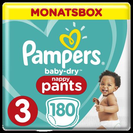 Pampers Baby Dry Pants Gr.3 Midi 6-11kg MonatsBox
