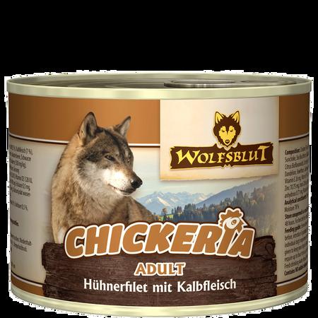 Wolfsblut Chickeria Adult Huhn Kalb