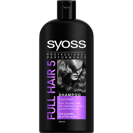 syoss PROFESSIONAL Full Hair 5 Shampoo