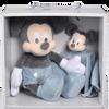Bild: Disney's Mickey Schmusetuch und Plüschtier Set Blau