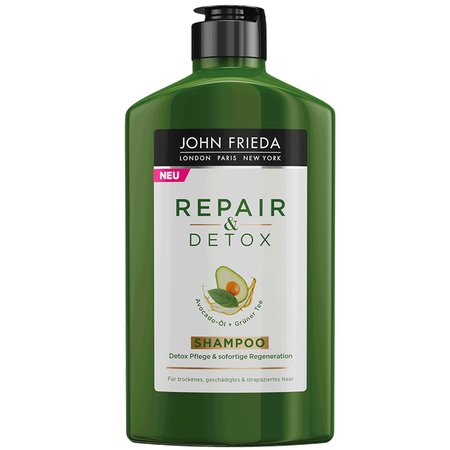 JOHN FRIEDA Repair & Detox Shampoo Avocado-Öl + Grüner Tee