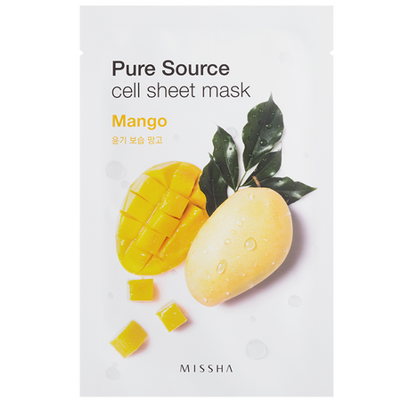 MISSHA Pure Source Cell Tuchmaske Mango