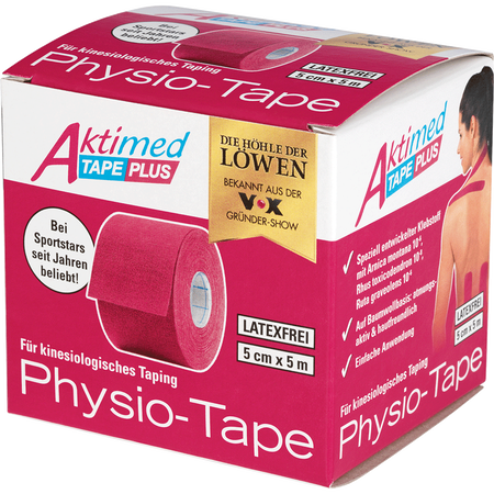 Aktimed Tape Plus Physio-Tape pink