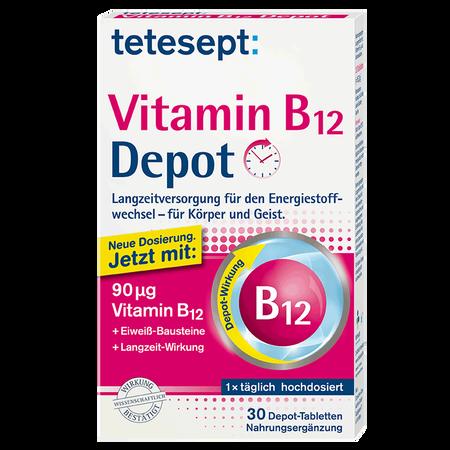 tetesept: Vitamin B12 Depot Tabletten