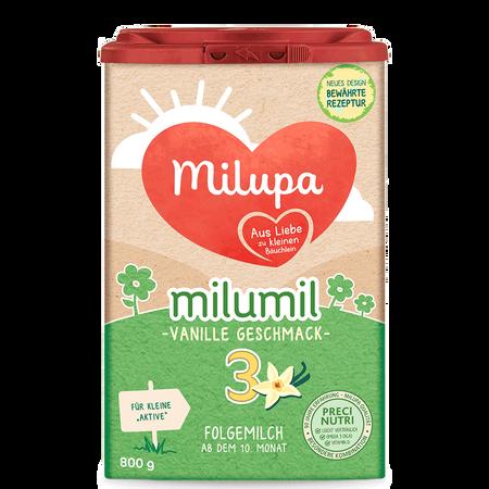 Milupa Milumil 3 Folgemilch Vanille-Geschmack
