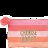 Bild: LOOK BY BIPA Choose Happy Kosmetiktasche mit Bommel