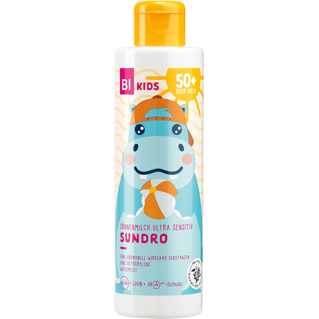 BI KIDS Kinder Sonnenmilch Ultra Sensitiv Sundro LSF 50+