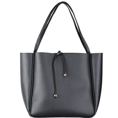 LOOK BY BIPA Shopper Schwarz mit Band
