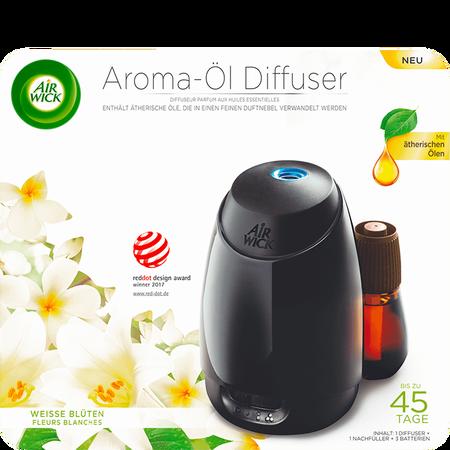 AIRWICK Aroma-Öl Diffuser Weisse Blüten