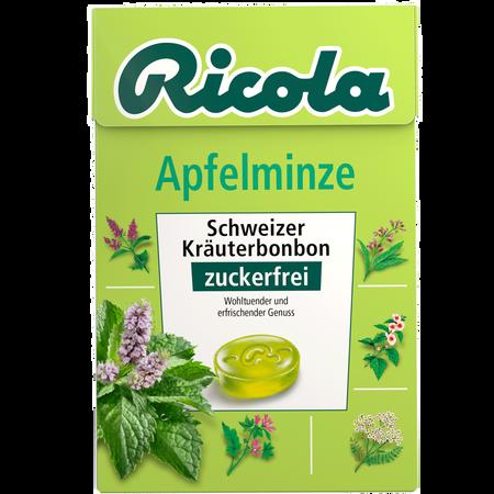 Ricola Duo Apfelminze Schweizer Kräuterbonbons