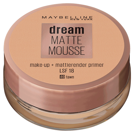 MAYBELLINE Dream Matte Mousse Make Up