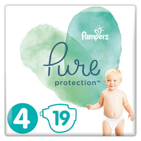 Pampers Pure Protection Gr. 4 Maxi 9-14 kg