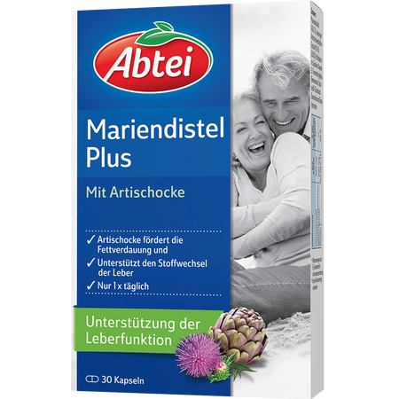 Abtei Mariendistelöl Plus mit Artischocke Kapseln
