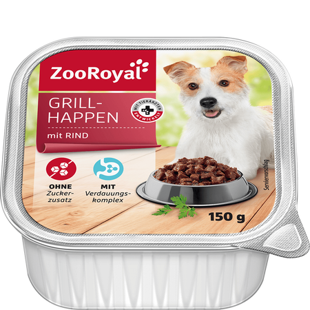 ZooRoyal Grillhappen mit Rind