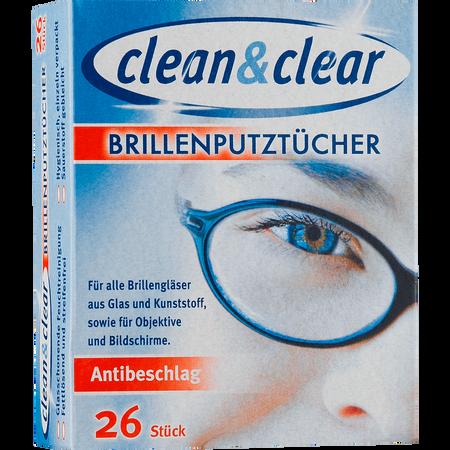 Clean & Clear Brillenputztücher