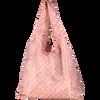 Bild: LOOK BY BIPA Falttasche rosa gemustert